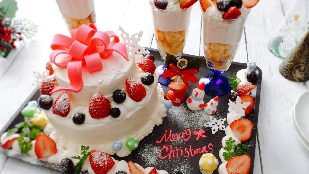 クリスマスデコレーションケーキの作り方