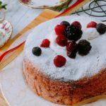マーブルスポンジケーキ