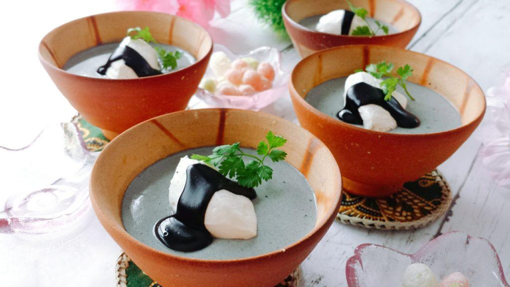 黒ごまプリン レシピ 豆乳