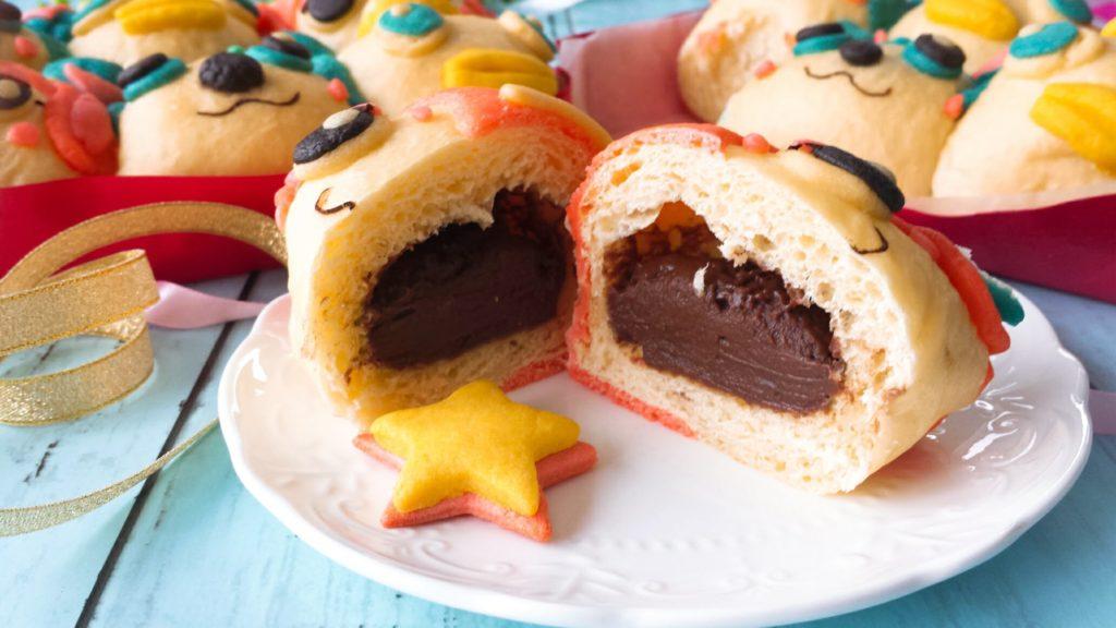チョコクリーム パン用 レシピ