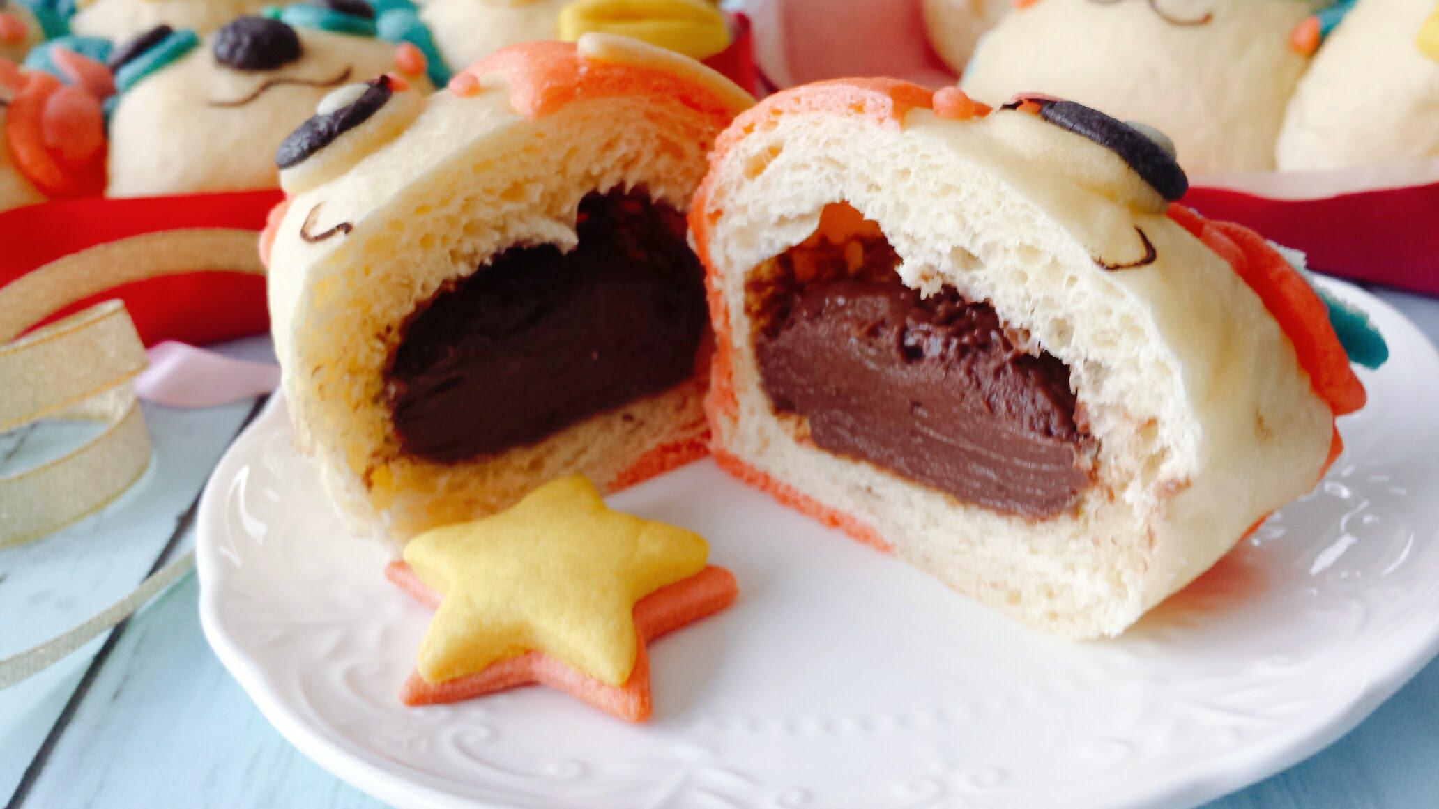 チョコクリーム レシピ ちぎりパン 簡単