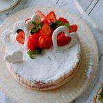 いちご チーズケーキ デコレーション