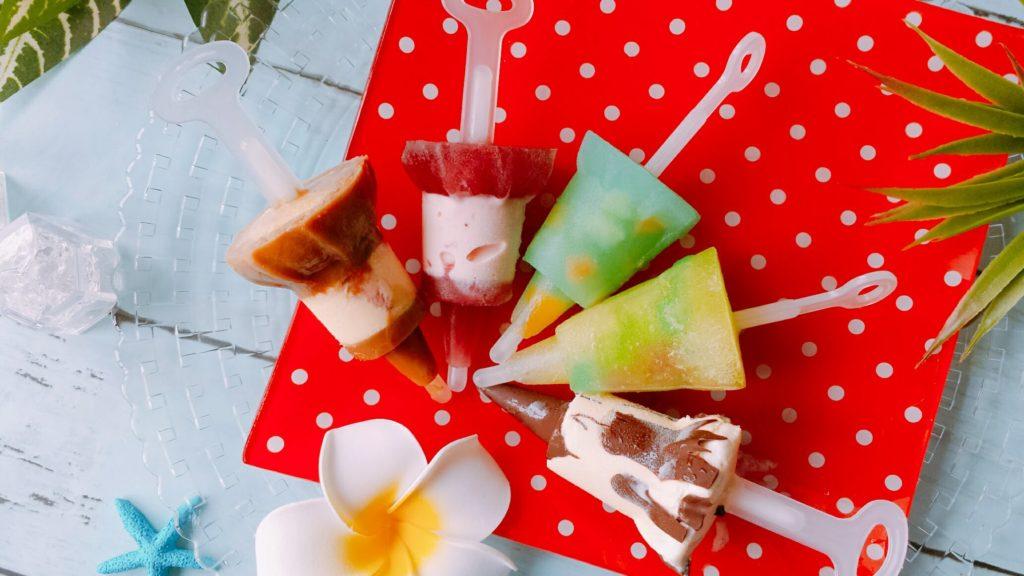 アイスキャンディーメーカー レシピ ジュース ダイソー