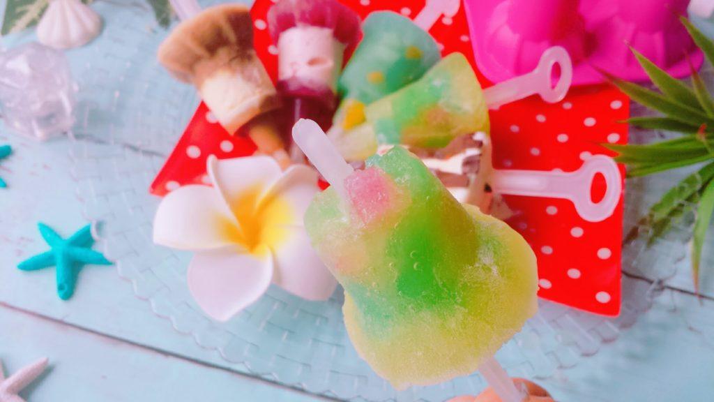 アイスキャンディーメーカー レシピ ダイソー ジュース