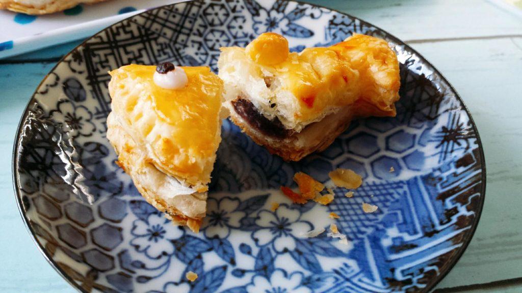 粒あんこ お菓子 レシピ 冷凍パイシート たい焼きパイ