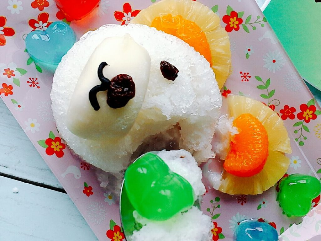白くまカキ氷 レシピ