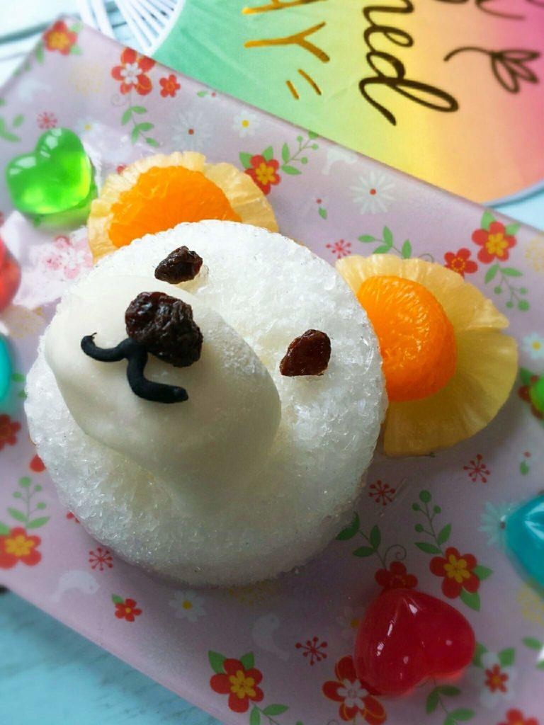 白くま カキ氷 レシピ