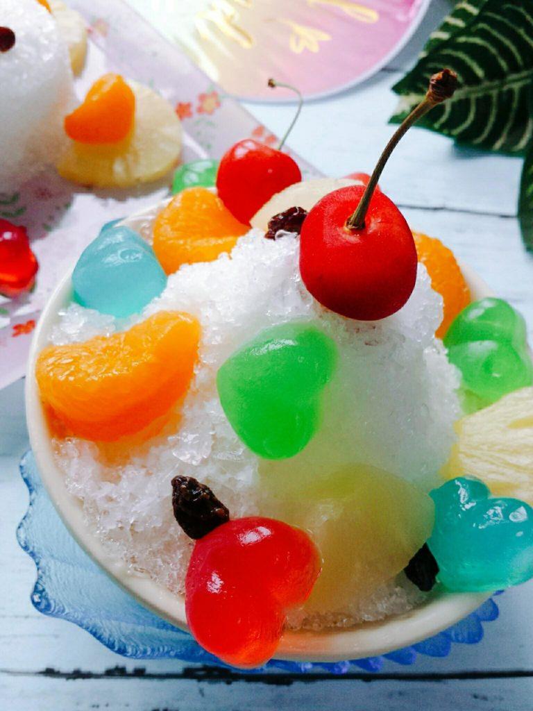 白くまカキ氷 レシピ 鹿児島風