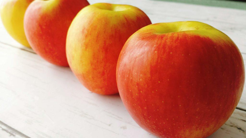 リンゴ カロリー 栄養 妊娠中 冷凍保存
