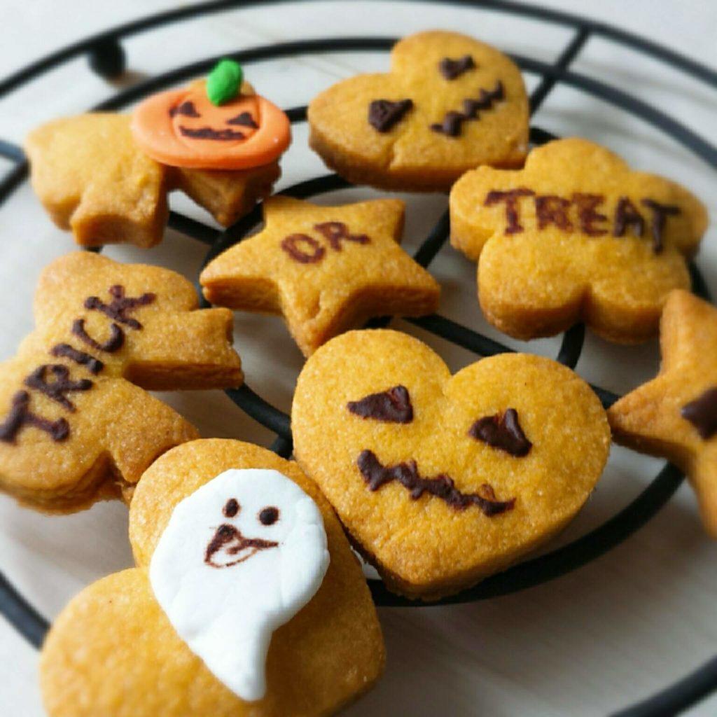 かぼちゃクッキー 簡単