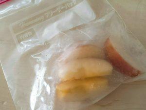 りんご 冷凍保存する方法