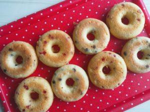 焼きドーナッツ 粒ジャム レシピ