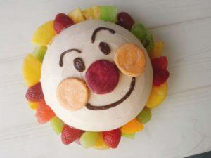 ドームケーキ クリーム 塗り方
