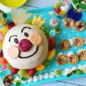アンパンマンケーキ 手作り