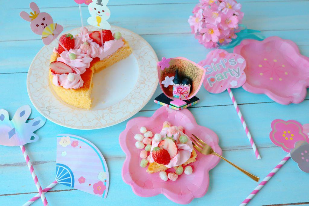 ダイソー 桜 ひな祭りグッズ
