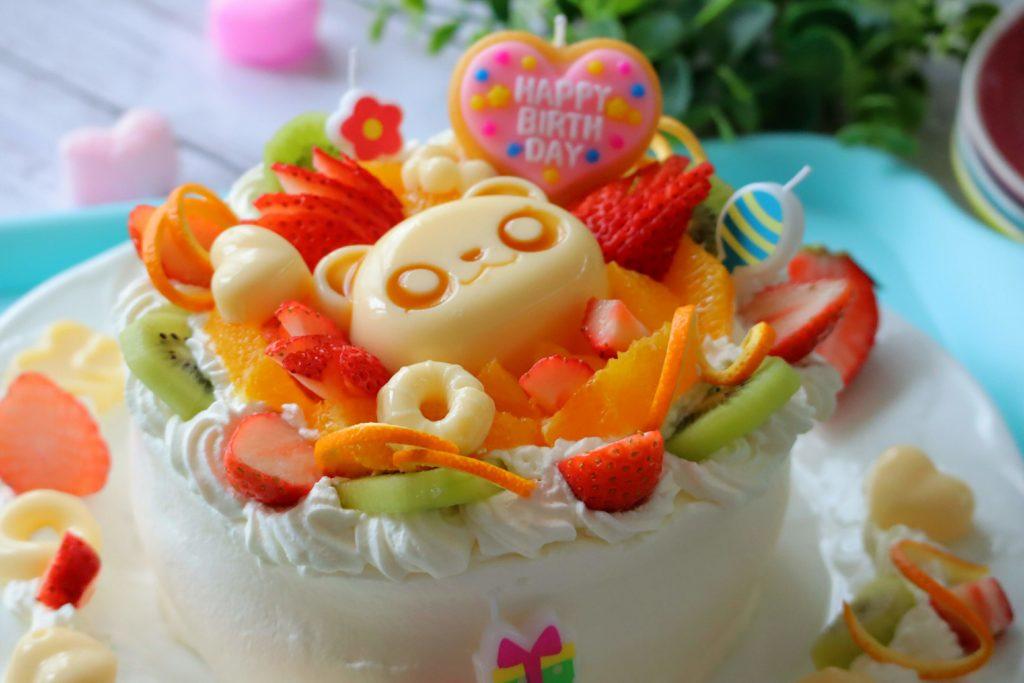 誕生日ケーキ レシピ 子供向け