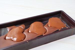 100均チョコ型