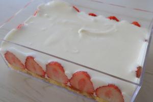 イチゴティラミス レシピ