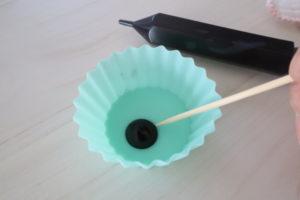 キャラチョコプレート作り方