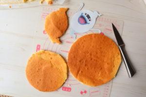 妖怪ウォッチ キャラクターケーキ手作り