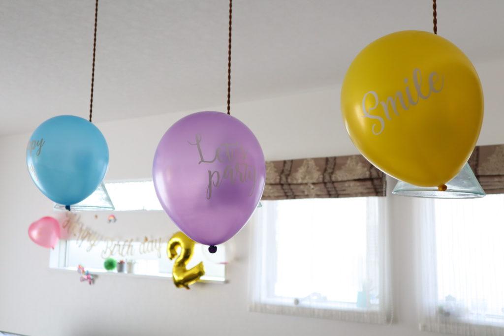 ダイソー 誕生日飾りつけ
