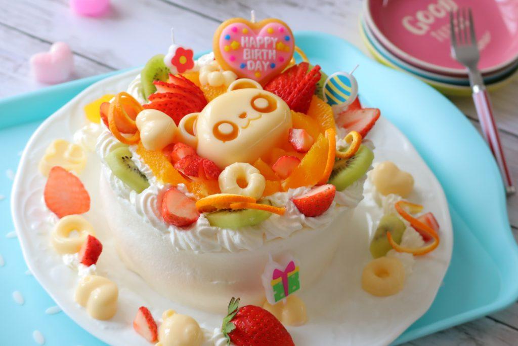 誕生日ケーキ 手作り デコレーション