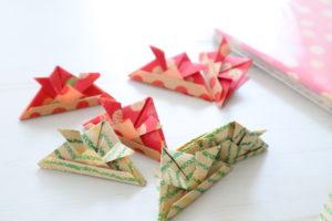 折り紙 かぶと 折り方