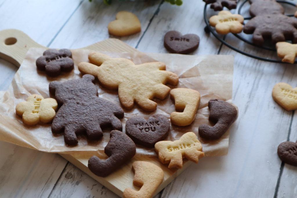 型抜きクッキー アーモンドプードル サクサク