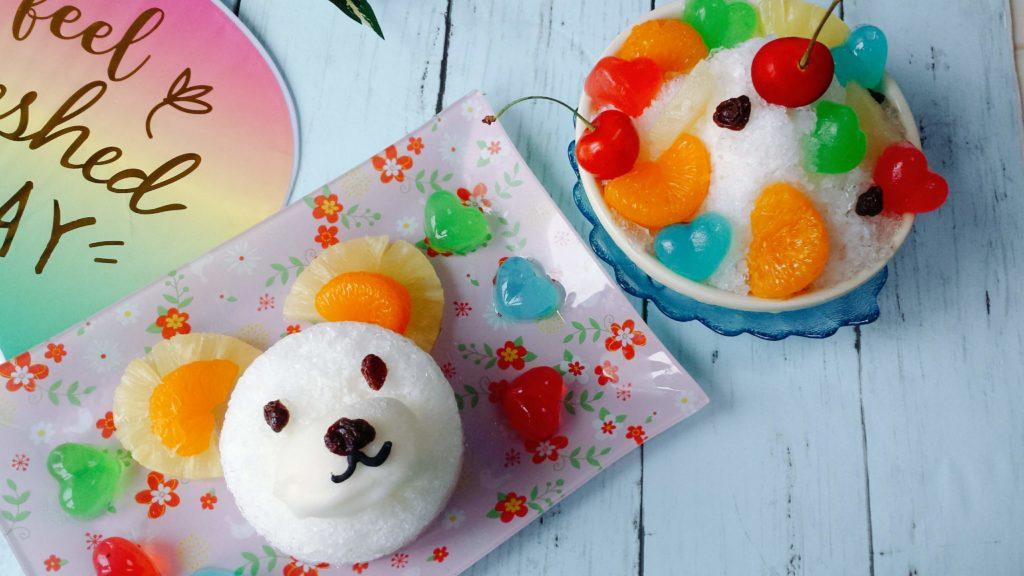 白熊 カキ氷 レシピ