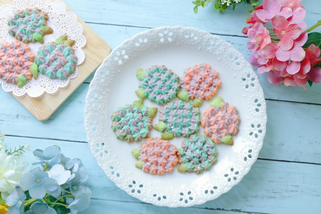 紫陽花クッキー