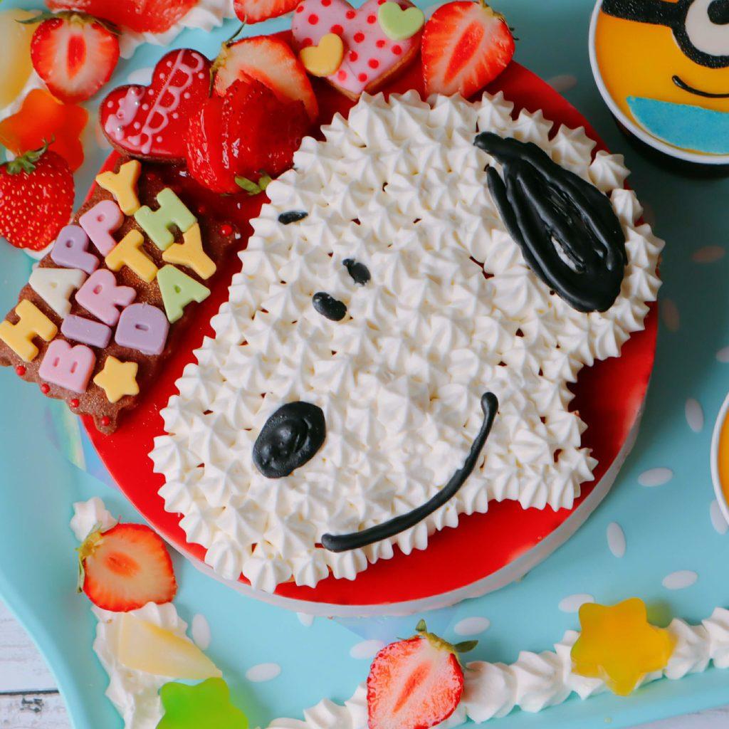 スヌーピー ケーキ 作り方
