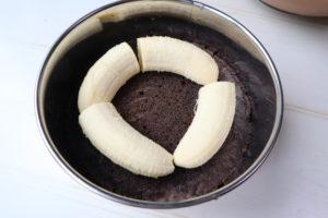 チョコバナナケーキレシピ