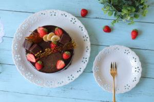 チョコレートムースケーキ
