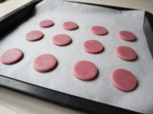むらさきいもクッキー 作り方