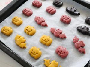 セリア ハロウィン クッキー