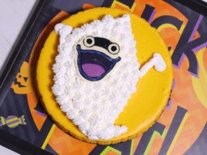妖怪ウォッチケーキ 手作り