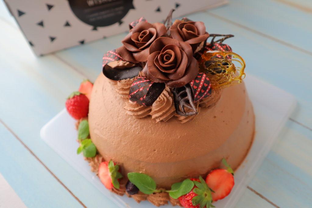 生チョコ ケーキ デコレーション