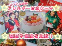 クリスマスケーキ アレルギー