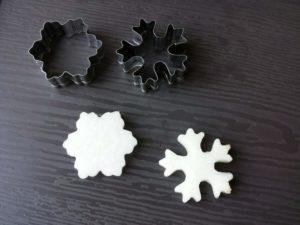 雪の結晶 作り方 簡単