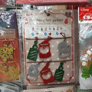 セリア クリスマス ガーランド
