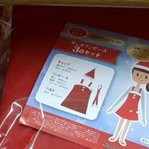セリア クリスマス 衣裳