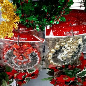 ダイソー クリスマス リース