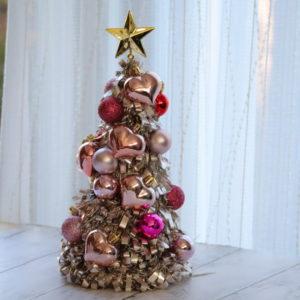 クリスマスツリー 手作り 100均