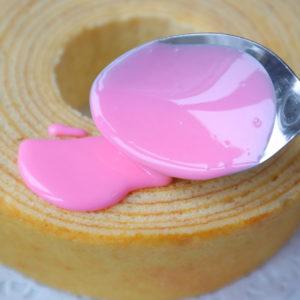ドリップケーキ ピンク
