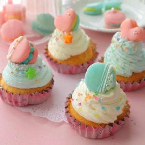 カップケーキ デコレーション 簡単