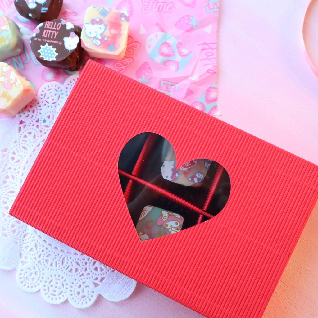セリア バレンタイン 箱