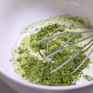 抹茶ガナッシュ 作り方