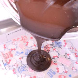 転写チョコ 作り方