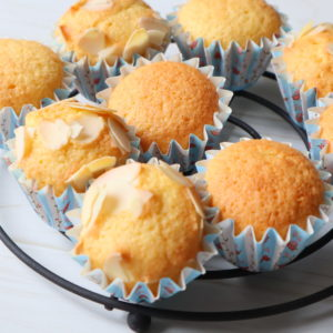 アーモンドカップケーキ レシピ 簡単