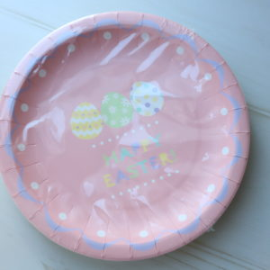 ダイソー イースター 紙皿